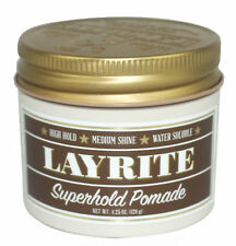LAYRITE 4 Oz Hi-Sheen Super Strong Hold Pomade NEW