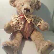 Simply Stitched Bear Jointed 22in Tall 1990 Of Bears and Hares