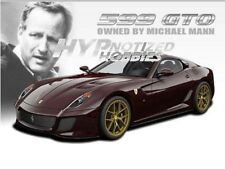 HOT WHEELS 1:18 ELITE CELEBRITIES FERRARI 599 GTO MICHAEL MANN V7424 BURGUNDY
