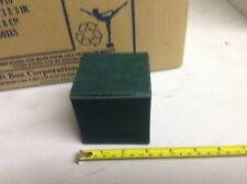 "Lot of 200 Boxes 3 x 3 x 3"" 1 piece boxes. Fg Brk Free shipping"