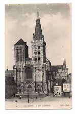 14 - cpa - LISIEUX - La cathédrale  ( i 2205)
