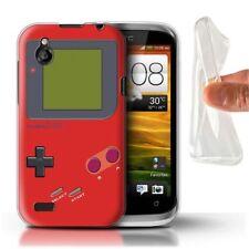 Étuis, housses et coques rouge HTC Desire X en silicone, caoutchouc, gel pour téléphone mobile et assistant personnel (PDA)