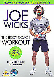 Joe Wicks The Body Coach Workout (NEW & SEALED)