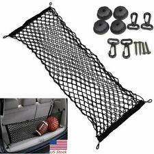Universal Car Double Layer Storage Net Envelope Style Trunk Cargo Travel Net US