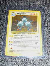 Magneton 9/102 Base Set Pokemon Card
