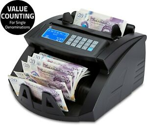 Note Counter Machine Money Currency Banknote Counting Detector Cash Bill ZZap