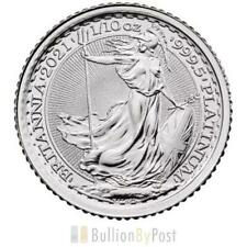 More details for 2021 tenth ounce platinum britannia coin