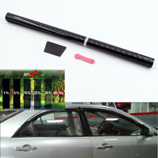 Universal 50% VLT Pro Car Home Glass Window TINT TINTING Film Roll 50cmx3m Black