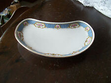 T & V Limoges France bone dish or  crescent salad plate