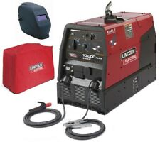 Lincoln K2343 3hc Eagle 10000 Plus Welder Amp Generator With Adf Helmet Amp Cover