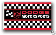 Checkered Truck RV NASCAR Toy Box Trailer Flag #R-0034