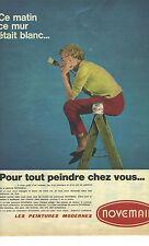 Publicité Advertising 1977 La Peinture Avi 3000 Breweriana, Beer