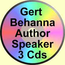 GERT BEHANNA 3 CDs GOD IS NOT DEAD + 2 OTHER TALKS ALCOHOLICS ANONYMOUS ALANON