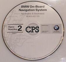 2001 2002 BMW 525i 530i 540i NAVIGATION MAP GPS CD 2 NW SW AZ ID CO NM OR UT WY