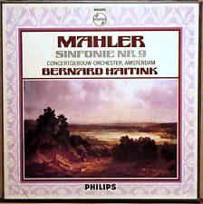 2 LP BOX PHILIPS HOLLAND Mahler HAITINK Symphony #9 6700 021