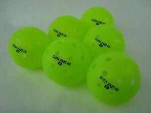 24 Dura Outdoor Pickleball Balls DuraFast 40 Neon Green   24  Pack