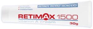 3 x Vit A moisturiser Retimax 1500 protecting cream 4 x 30g each BB 2023