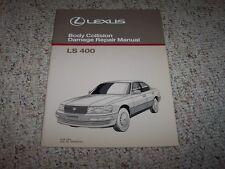 1990 Lexus LS400 LS 400 Body Shop Service Repair Manual 1991 1992 1993 1994