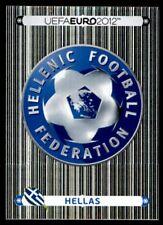 Panini Euro 2012 (Swiss Platinum Edition) Badge (Greece) No. 79