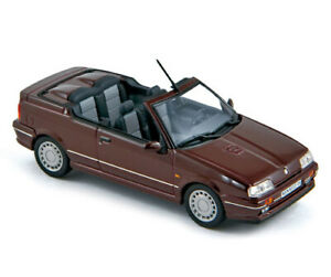 Norev 511910  Renault 19 Cabriolet 1990 Prune 1/43e