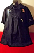 RED BULL RACING TEAM PUMA PIT SHIRT IN LIKE NEW CONDITION SMALL FAULT SIZE XXL