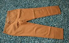 "HACKETT ""SANDERSON"" MENS RUSTY BROWN CHINO TROUSERS VGC SIZE W38 L34"