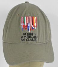 Gray Korbel American Ski Classic Chaos Embroidered Baseball hat cap  Adjustable 57a76e8586b0