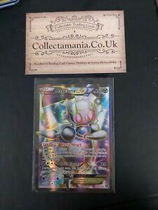 Magearna EX 110/114 Full Art Pokemon Card Steam Siege Set