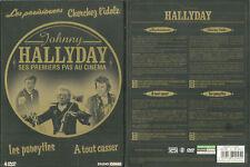 COFFRET 4 DVD - JOHNNY HALLYDAY : SES DEBUTS AU CINEMA, SES 4 PREMIERS FILMS