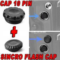 CAP 10-PIN REMOTE CONTROL MC-30 SYNC FLASH COVER CAMERA NIKON D810 D810A D800 F2