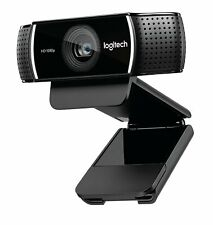 Logitech 1080p HD Pro Stream Webcam (30fps) for work from home, streaming