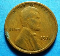 *1921-S* Lincoln Wheat Cent scarce