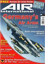 AIR INTERNATIONAL MAY 06: PILATUS PC-21 C'WAY/ SPANISH EUROFIGHTER/ DELTA DART