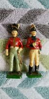 Red Coat lead tin Toy soldiers unknown