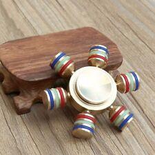 New Hand Spinner Fidget Tiller Shape Desk Focus Anxiety Stress ADHD Relieved Toy
