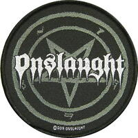 ONSLAUGHT AUFNÄHER PATCH # 6 THE FORCE LOGO 10cm FLICKEN ABZEICHEN