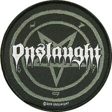 "ONSLAUGHT AUFNÄHER / PATCH # 6 ""PENTAGRAM LOGO"""