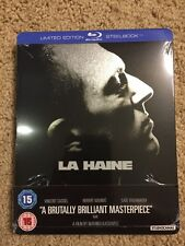 La Haine (Blu Ray Steelbook Brand New UK Region  B)