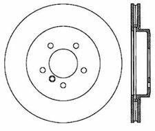 Disc Brake Rotor-Sport Drilled Disc Front Left Stoptech fits 2000 BMW Z8
