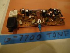 Sansui G-7700 Stereo Receiver Parting Out Tone Board + Headphone Jack