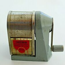 DELUXE CHICAGO AUTOMATIC PENCIL SHARPENER APSCO