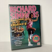 RICHARD SIMMONS SWEATIN TO THE OLDIES 4 New Sealed DVD 20th Anniversay