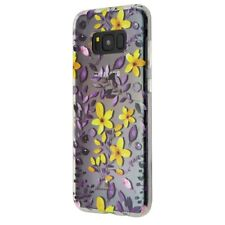 Milk and Honey Multi-Floral Case Cover Samsung Galaxy S8+ Plus - Clear / Flowers