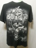 Sullen Art Collective T-Shirt Artist Ivan 2011 Black Mens Size Large EUC