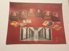 RARE - 1988 BASEBALL CARDS CALENDAR/ HALL OF FAME - LOOK!