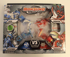 Monsuno Combat 4-Pack Core-Tech vs Eklipse Series 2 Neu / OVP