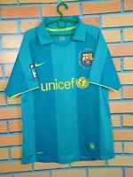 Barcelona Jersey 2007 2008 Away MEDIUM Shirt Football Soccer Camiseta Nike ig93
