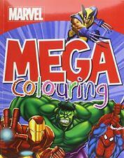 (Good)-Marvel Super Heroes Mega Colouring (Paperback)-Marvel-1472344561