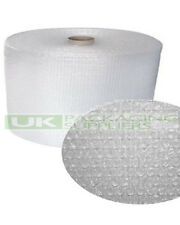 1 Small Bubble Wrap Roll 300mm Wide X 100 Metres Long Cushioning -