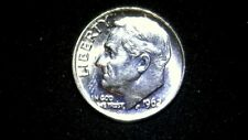 "UNC 1962""P"" LIBERTY SILVER DIME-UNITED STATES RAW COIN SOLO EVENT PREVIEW"""